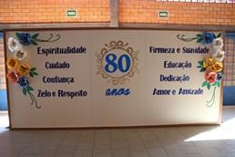 COMEMORAÇÃO DOS 80 ANOS DO COLÉGIO