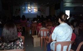 Cinema com as famílias