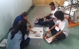 Início do projeto - Orientação de Carreira e Percurso Acadêmico realizado em parceria com o Guri
