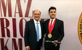 Aluno da FASM ganha Prêmio Thomaz Rodrigues Alckmin