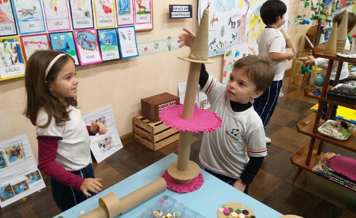 Equilíbrio - materiais tridimensionais