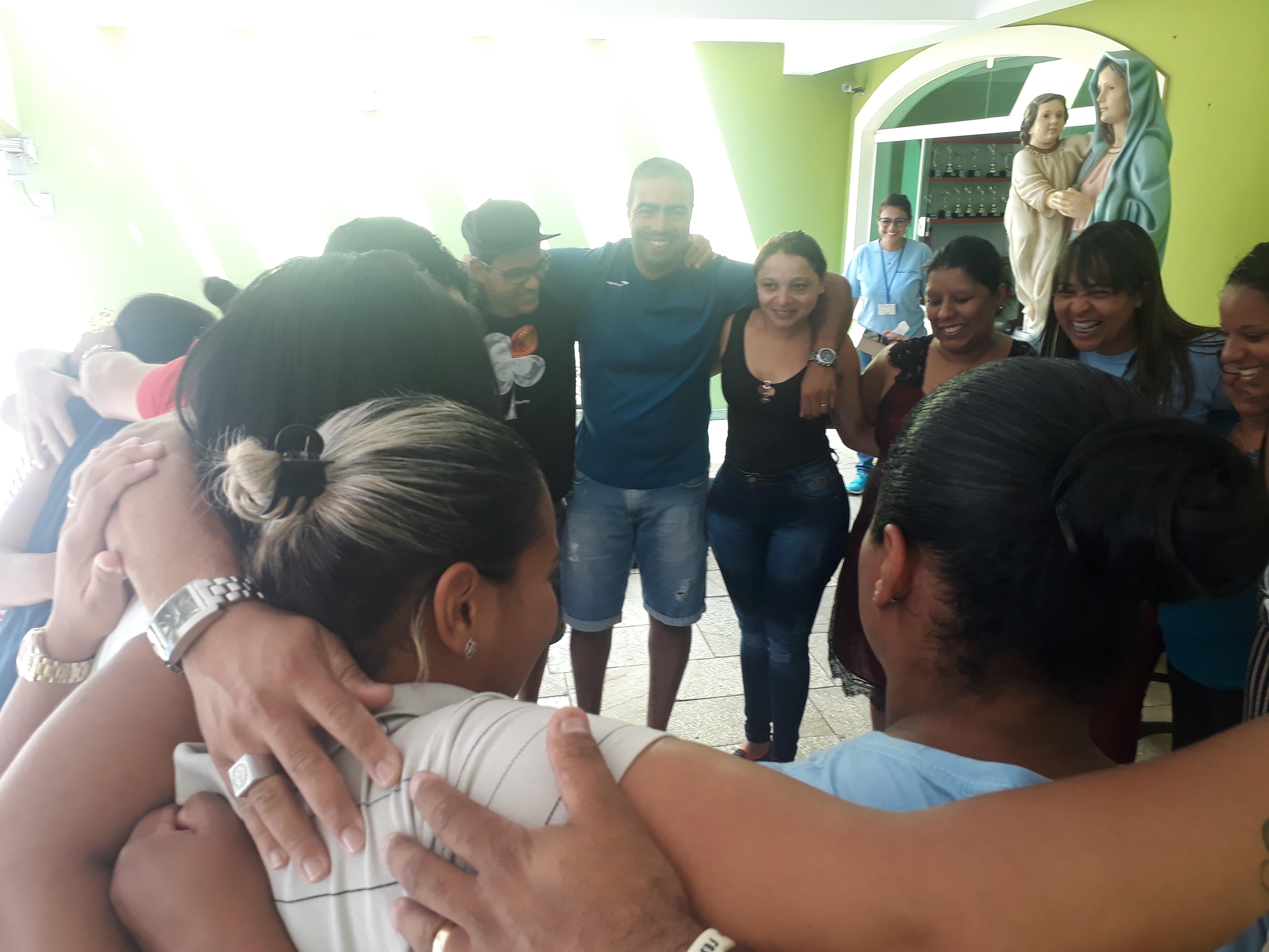 1º encontro com as familias
