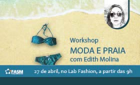 ​Workshop Moda Praia com Edith Molina