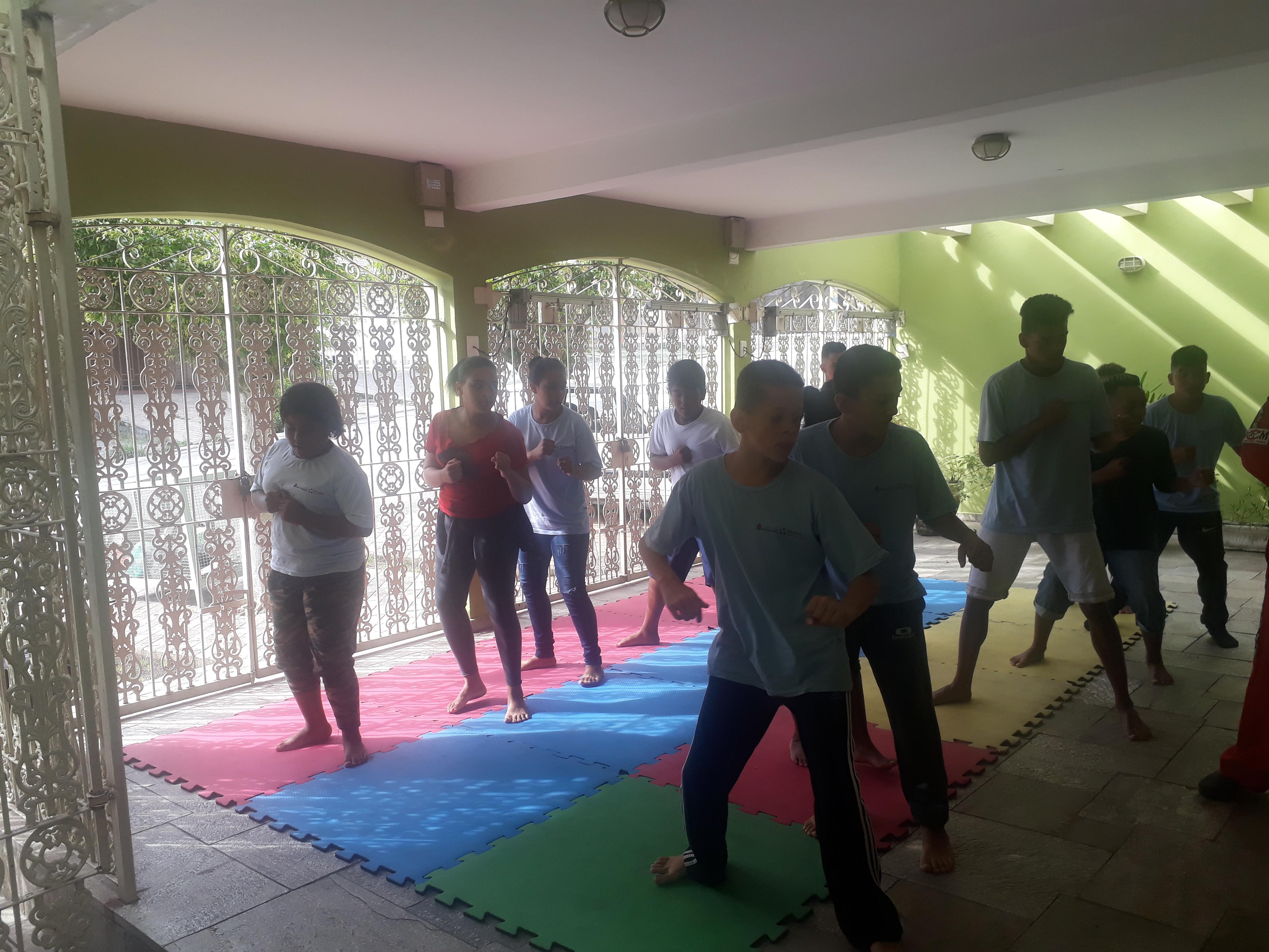 Inicio Aula Taekwondo