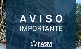 FASM não abre no Feriado de Nossa Senhora Padroeira do Brasil