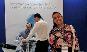Aluna de Enfermagem apresenta trabalho no 13º Congresso Brasileiro de Dor