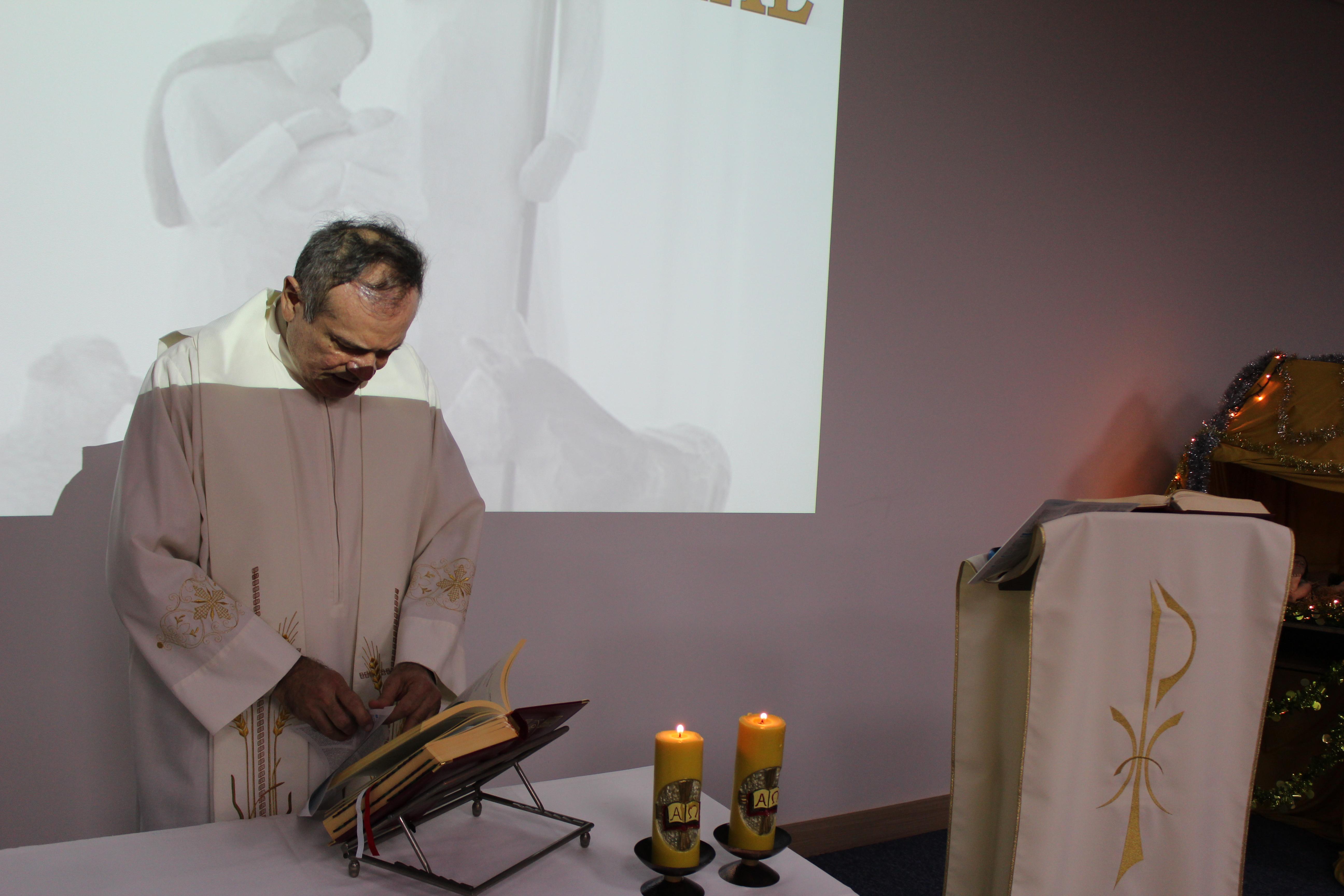 Pastoral Universitária - Missa de natal - Unidade Perdizes