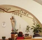 Cernusco sul Naviglio (Milão): capela de de de Nossa Senhora do Divino Pranto.