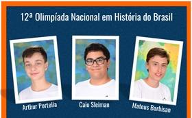 12ª Olimpíada Nacional em História do Brasil.