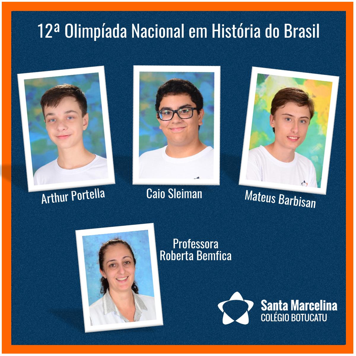 12 Olimpíada de Historia