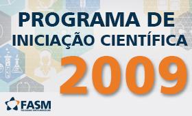 RELAÇÃO DOS PROJETOS DO PROGRAMA EM 2009