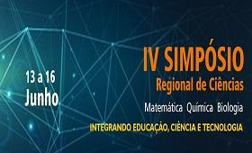 IV SIMPÓSIO REGIONAL DE CIÊNCIAS