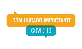 Comunicado Importante sobre o COVID-19