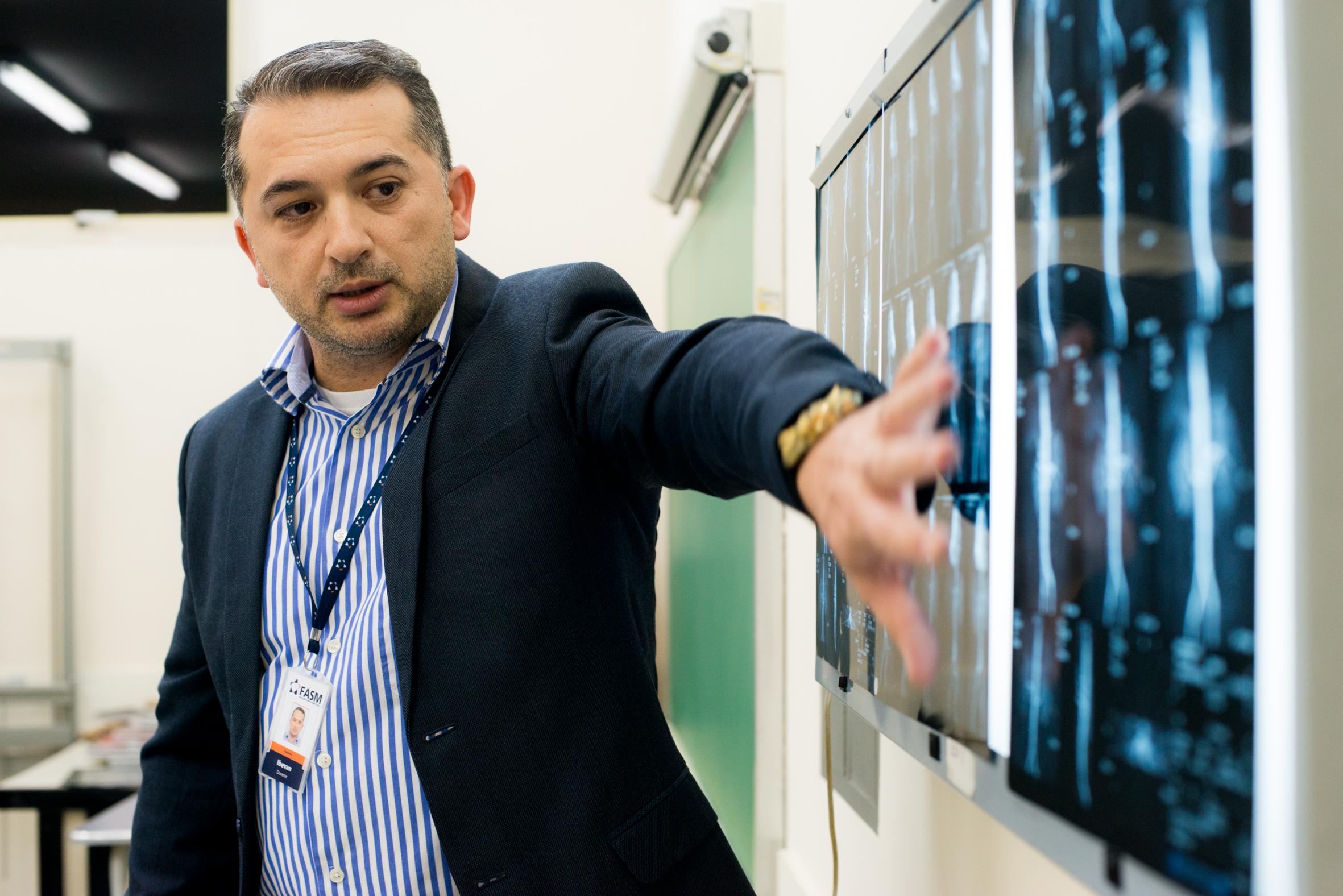 Ibevan Arruda, coordenador do Curso de Tecnologia em Radiologia da FASM.