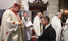Professor Sérgio Antônio - Cavaleiro da Ordem Equestre do Santo Sepulcro de Jerusalém.