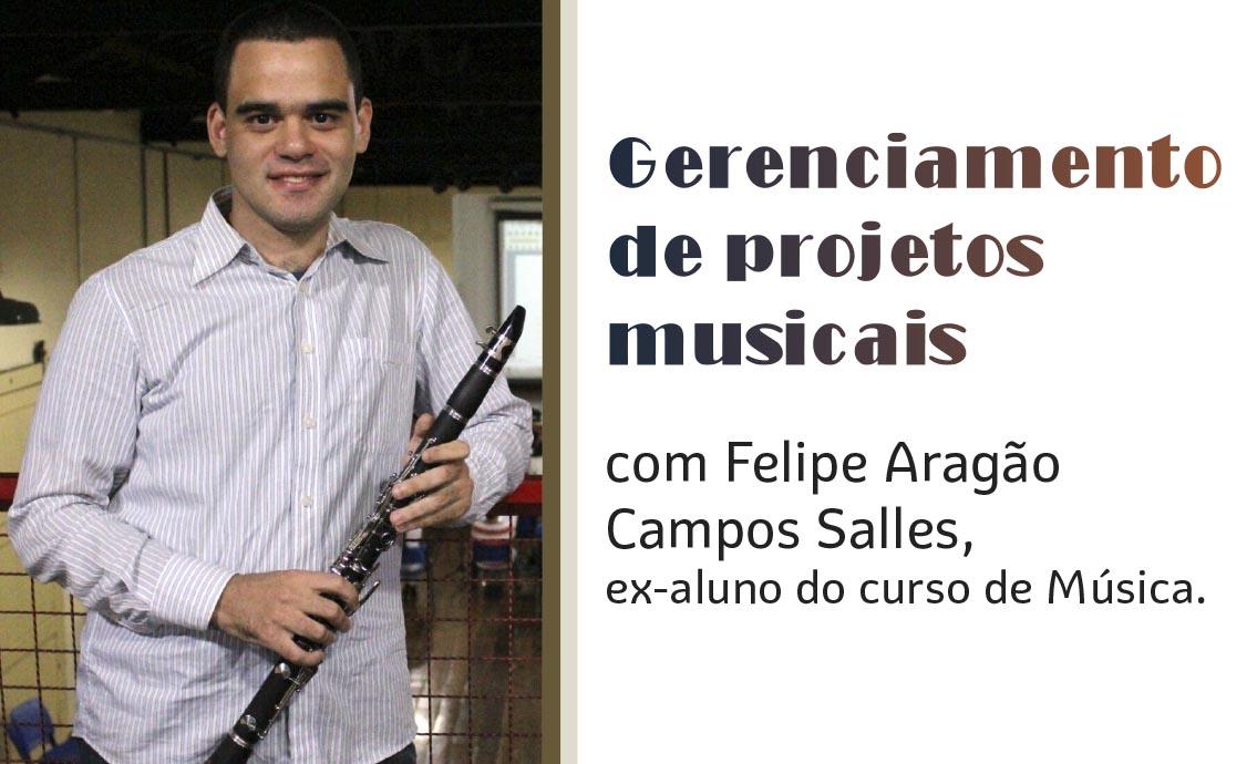 Palestra: Gerenciamento de Projetos Musicais  -