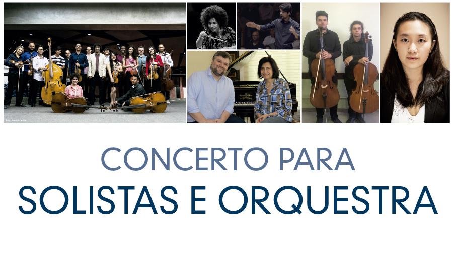 Orquestra de Câmara de São Paulo – regência do maestro Ricardo Cardim com alunos e professores do Curso de Música.